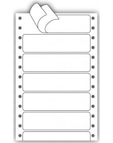 Pin Fed Piggyback Labels
