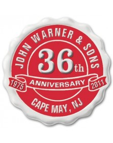 Personalized Anniversary Seal Rolls SE-02