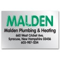 Personalized Square Corner Business Labels