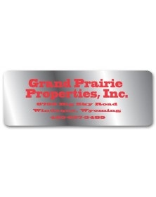 Weatherproof Company Address Labels