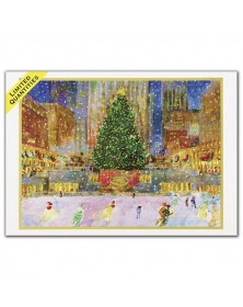 American Artist - Rockefeller Center Holiday Cards