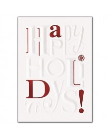 Loud & Clear Holiday Cards