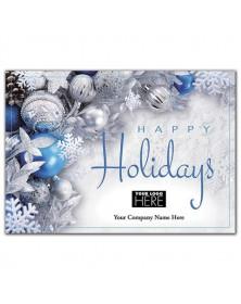 Blue Radiance Holiday Logo Cards