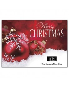 Christmas Ball Christmas Logo Cards