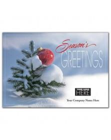 Mighty Green Tree Holiday Logo Cards