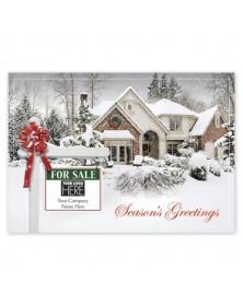New Joy Real Estate Holiday Logo Cards