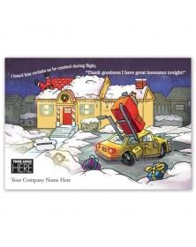 Holiday Coverage Insurance Holiday Logo Cards