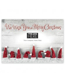 Hats Off Christmas Logo Cards
