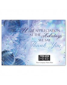 Truly Grateful Holiday Logo Cards