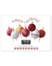 Sweet Truffles Holiday Logo Cards