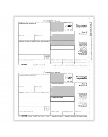 Laser 1099-NEC Federal Copy B
