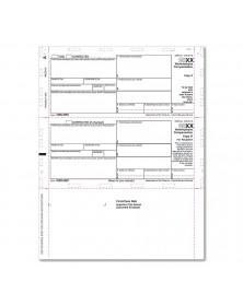 Bulk Laser 1099 NEC 2UP Horizontal Copy with Backer Cut