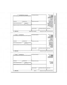 Bulk Laser 1099 NEC Recipient Copy B Payee & State / Copy C & State