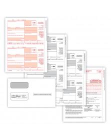 Laser 1099-NEC 3 Part Set with Envelopes