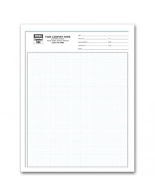 Engineering Graph Pads - 1/8 Inch graph pads, custom graph paper, graph paper pads