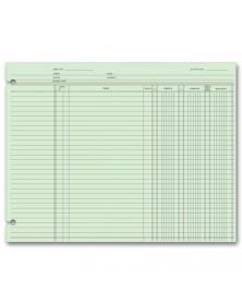 Accounting Ledger Sheets - End Balance ledger forms, general ledger forms, accounting general ledger forms