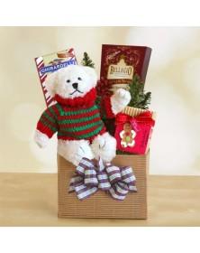 Fireside Cuddles Gift Basket