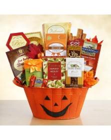 Halloween Pumpkin Gourmet Gift Basket