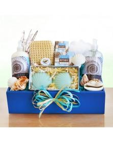 Ocean Pur Spa Greetings Basket