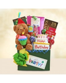 Birthday Party Bear Gift