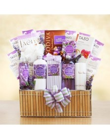 Spa Gifts Spring Basket