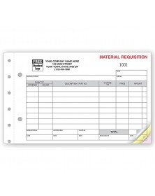 Requisitions - Material