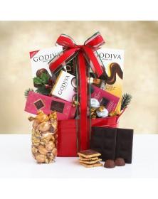 Godiva Holiday Food Gift Basket