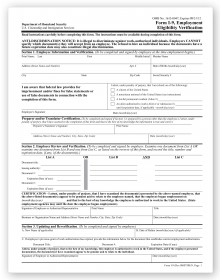 I-9 Tax Forms - Employment Eligibility Verification