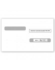 Laser W 2 Double Window Envelope