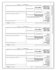 3921 Laser Tax Forms - Copy D