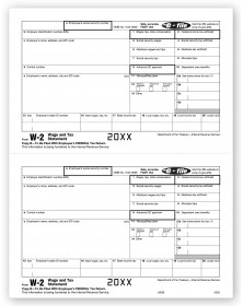 Laser W-2 - Employee Copy B (TF5202) - W-2 Forms   - Tax Forms | Printez.com