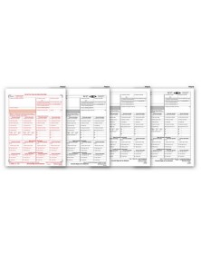 Laser W 2C Corrected Wage & Tax Statement Set, 6 part