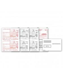 Laser 1099 MISC Income Set & Envelope Kit, 3 part
