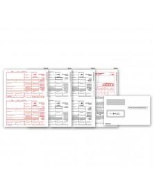Laser 1099 MISC Income Set & Envelope Kit, 4 part
