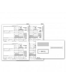 Laser 1099 MISC Electronic Filing Set & Envelope Kit