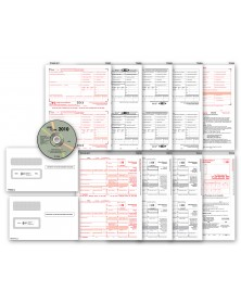 Laser Link 1099 Tax Form and Tax Software Kit