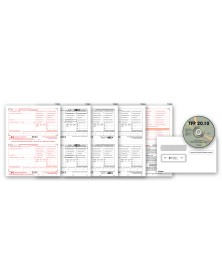 Laser W-2 Tax Forms Preparation Software Bundle