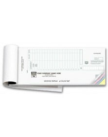 Booked Deposit Tickets - Classic (100018) - Deposit Slips  - Business Checks | Printez.com