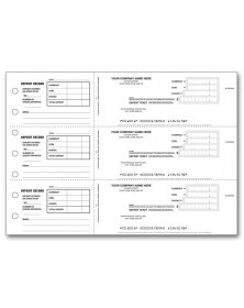 Personalized 3-Per-Page Deposit Tickets (100053) - Deposit Slips  - Business Checks | Printez.com