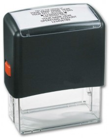 Bank Endorsement Stamp - Self-Inking (102170) - Business Checks Supplies  - Business Checks | Printez.com