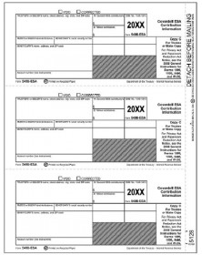 Laser 5498-ESA  Tax Forms Trustee Copy C
