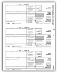 Laser 1098-T Tax Forms - Filer Or State Copy C, Tuition Statement