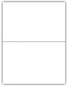 Blank Laser W-2 Tax Forms - 2-Up