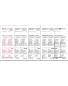 TF5317, Laser W-2C Kit - Corrected Wage & Tax Statement, 4-Part, 50/Pkg (TF5317) - W-2 Forms   - Tax Forms