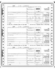 Continuous 5498 Tax Forms