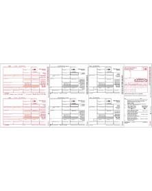 Laser 1099-MISC Tax Forms Miscellaneous Income, 3-Part - 50/Pkg
