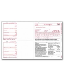 Laser 1099-MISC Tax FormsMiscellaneous Income, 4-Part - 50/Pkg
