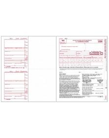 Laser 1099-MISC Tax Forms Miscellaneous Income, 5-Part Kit - 50/Pkg
