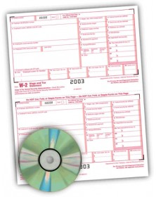 Laser Link W-2 Tax Forms Software Bundle