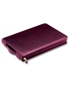 3-Per-Page Leather Check Binder (53248N) - Check Binders & Covers  - Business Checks | Printez.com